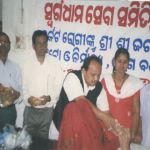 Distribution of bhoga and nirmalya to cancer patients